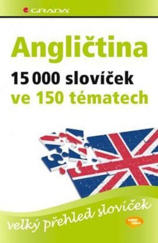 Hoffmann Hans G. a Marion: Angličtina – 15 000 slovíček ve 150 tématech - velký přehled slovíček cena od 338 Kč