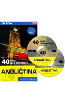 Michel Marcheteau: Angličtina - 40 lekcí pro samouky + 2 CD cena od 311 Kč