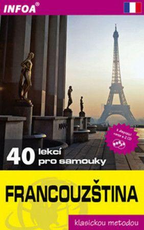 Sylviane Nouschi: Francouzština - 40 lekcí pro samouky cena od 189 Kč
