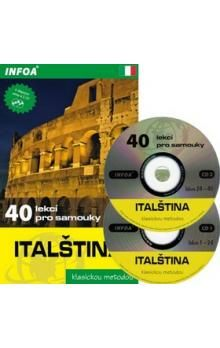 Noaro Pierre, Cifarelli Paolo: Italština - 40 lekcí pro samouky + 2 CD cena od 186 Kč
