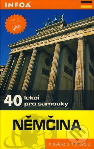 Klatt Wolfram: Němčina - 40 lekcí pro samouky cena od 195 Kč