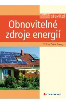 Quaschning Volker: Obnovitelné zdroje energie cena od 168 Kč