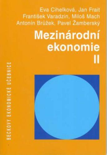Jan Frait: Mezinárodní ekonomie II. cena od 441 Kč