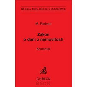 Michal Radvan: Zákon o dani z nemovitosti cena od 387 Kč