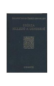 Ústavní soud ČR: Sbírka nálezů a usnesení ÚS ČR, svazek 51 cena od 738 Kč