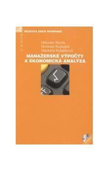 Heřman Kopkáně: Manažerské výpočty a ekonomická analýza (+ CD) cena od 706 Kč
