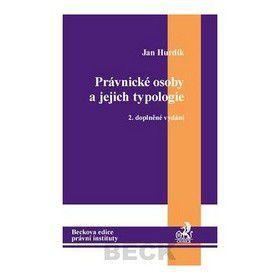 Jan Hurdík: Právnické osoby a jejich typologie cena od 314 Kč
