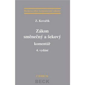 Zdeněk Kovařík: Zákon směnečný a šekový cena od 391 Kč