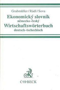 Radovan Rádl: Ekonomický slovník německo-český Wirtschaftswörterbuch deutsch-tsechitsch cena od 552 Kč