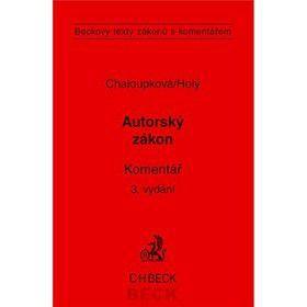 Helena Chaloupková; Petr Holý: Autorský zákon cena od 1189 Kč