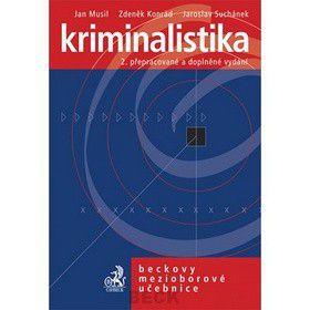 Zdeněk Konrád: Kriminalistika 2. přepracované a doplněné vydání cena od 884 Kč