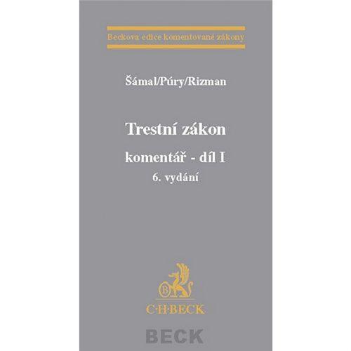 Pavel Šámal: Trestní zákon komentář - díl I + díl II + Dodatek ke komentáři cena od 2477 Kč