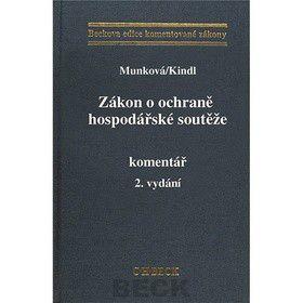 Jiří Kindl: Zákon o ochraně hospodářské soutěže cena od 678 Kč