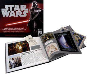 Peter Vilmur: Star Wars : unikátní materiály z archivů společnosti Lucasfilm za posledních třicet let cena od 1186 Kč