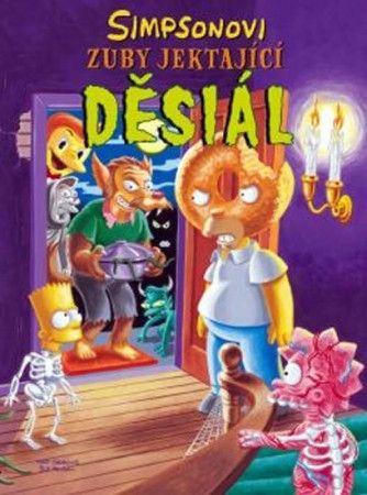 Matt Groening: Simpsonovi: Zuby jektající děsiál cena od 227 Kč