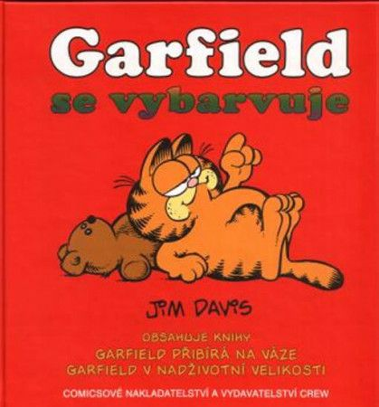 Jim Davis: Garfield se vybarvuje - Jim Davis cena od 350 Kč
