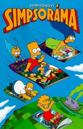 Matt Groening: Simpsonovi - Simpsoráma cena od 200 Kč