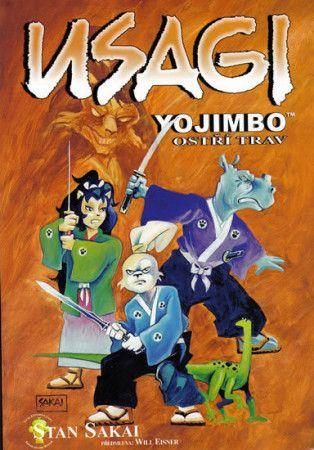 Stan Sakai: Usagi Yojimbo 12: Ostří trav cena od 177 Kč