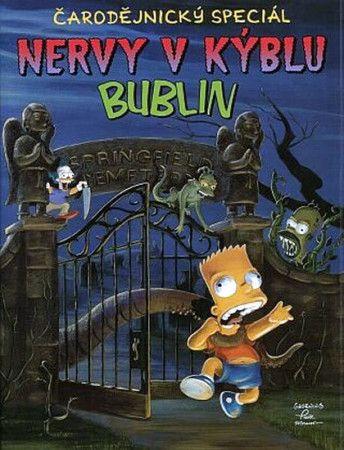 Matt Groening: Simpsonovi - Nervy v kýblu bublin cena od 235 Kč