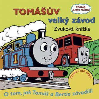 Tomášův velký závod Zvuková knížka