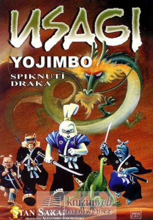 Stan Sakai: Usagi Yojimbo - Spiknutí draka cena od 154 Kč
