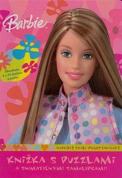 Mattel: Barbie knižka s puzzlami a snímateľnými samolepkami! cena od 229 Kč