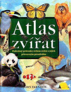 John Farndon: Atlas zvířat cena od 0 Kč