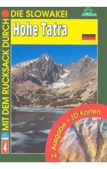 Ján Lacika: Hohe Tatra - 2. Ausgabe + 3DKarten (4) cena od 155 Kč
