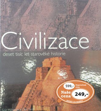 Jane McIntosh, Clint Twist: Civilizace cena od 126 Kč