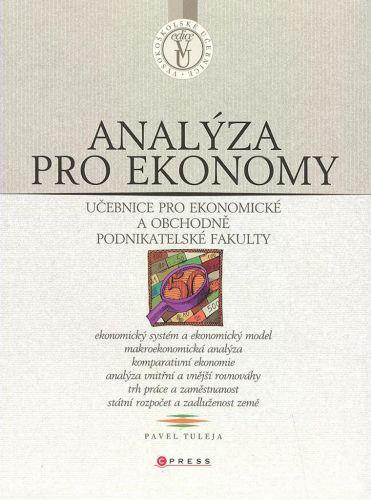 Pavel Tuleja: Analýza pro ekonomy cena od 244 Kč
