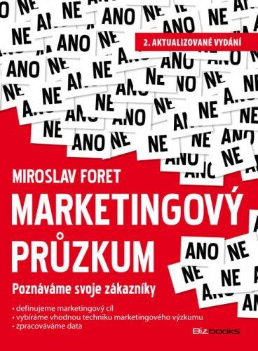 Miroslav Foret: Marketingový průzkum cena od 190 Kč