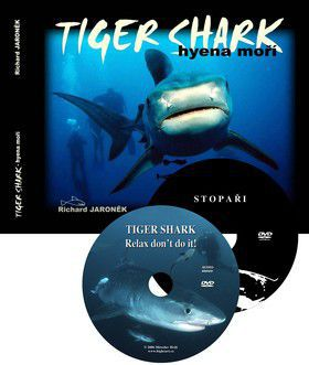 Richard Jaroněk: Tiger Shark hyena moří+DVD cena od 328 Kč