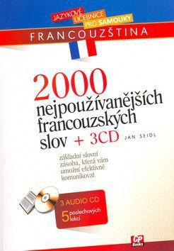 Jan Seidl: 2000 nejpoužívanějších francouzských slov cena od 240 Kč