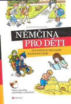 Jana Navrátilová: Němčina pro děti cena od 241 Kč