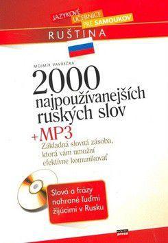 Mojmír Vavrečka: 2000 najpoužívanejších ruských slov cena od 159 Kč