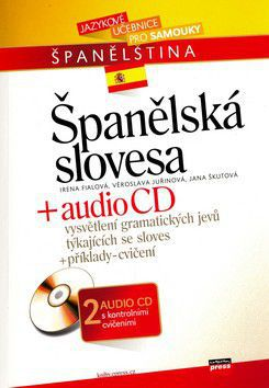 Irena Fialová: Španělská slovesa + audio CD cena od 224 Kč