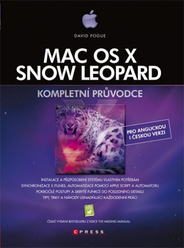 David Pogue: Mac OS X Snow Leopard cena od 692 Kč