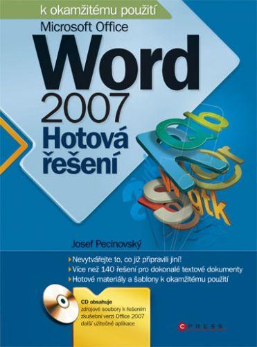 Josef Pecinovský: Microsoft Office Word 2007 cena od 186 Kč