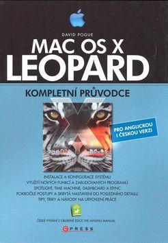 David Pogue: Mac OS X Leopard - David Pogue cena od 594 Kč