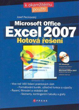 Josef Pecinovský: Microsoft Office Excel 2007 cena od 260 Kč