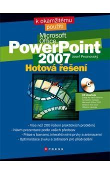 Josef Pecinovský: Microsoft PowerPoint 2007 cena od 190 Kč