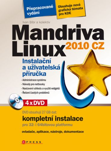 Ivan Bíbr, Kolektiv: Mandriva Linux 2010 CZ cena od 426 Kč