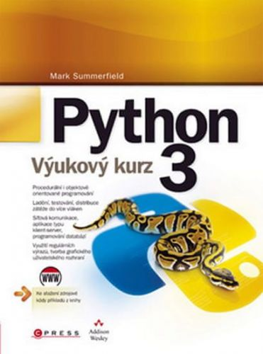 Mark Summerfield: Python 3 cena od 471 Kč