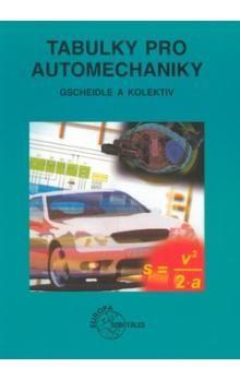 Rolf Gscheidle: Tabulky pro automechaniky cena od 418 Kč
