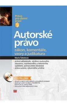 Marie Šebelová: Autorské právo cena od 213 Kč