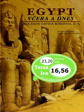Fabio Bourbon: Egypt včera a dnes cena od 337 Kč