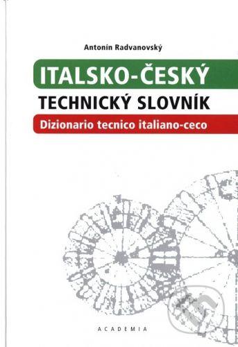Radvanovský Antonín: Italsko-český technický slovník cena od 620 Kč