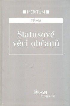 Jitka Morávková: Statusové věci občanů cena od 753 Kč