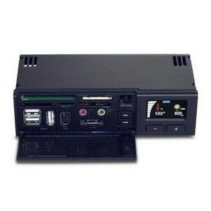 "AKASA Control panel, černý, panel do 5.25"" pozice"