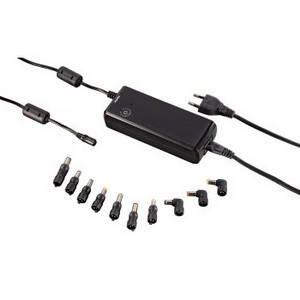 HAMA Univerzální zdroj pro notebook, 12-22 V/90 W, USB,